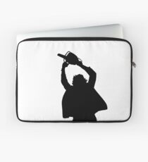 Chainsaw massacre silhouette Laptop Sleeve