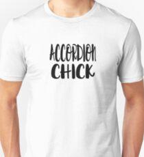 Accordion Chick - Funny Accordion T Shirt  T-Shirt