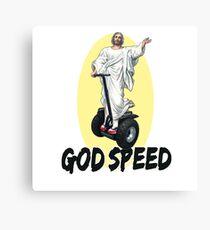Godspeed Holy Segway Canvas Print
