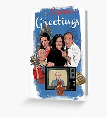 with a smile Greeting Card