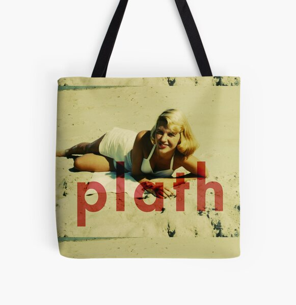 Plath All Over Print Tote Bag
