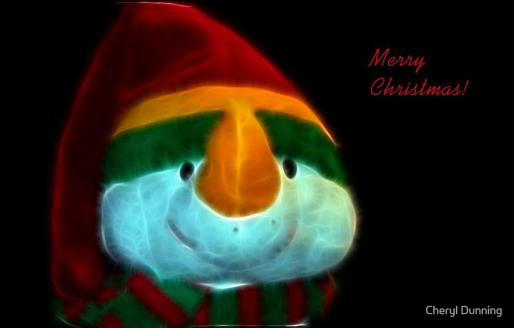 merry christmas! by Cheryl Dunning