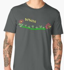 Kimi no na wa, Okudera embroidery Men's Premium T-Shirt