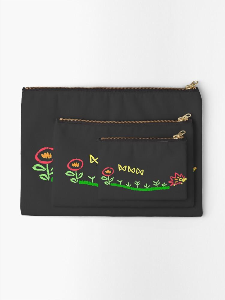 Alternate view of Kimi no na wa, Okudera embroidery Zipper Pouch