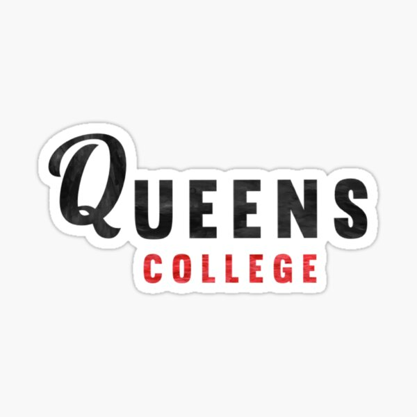 Queens College Sticker