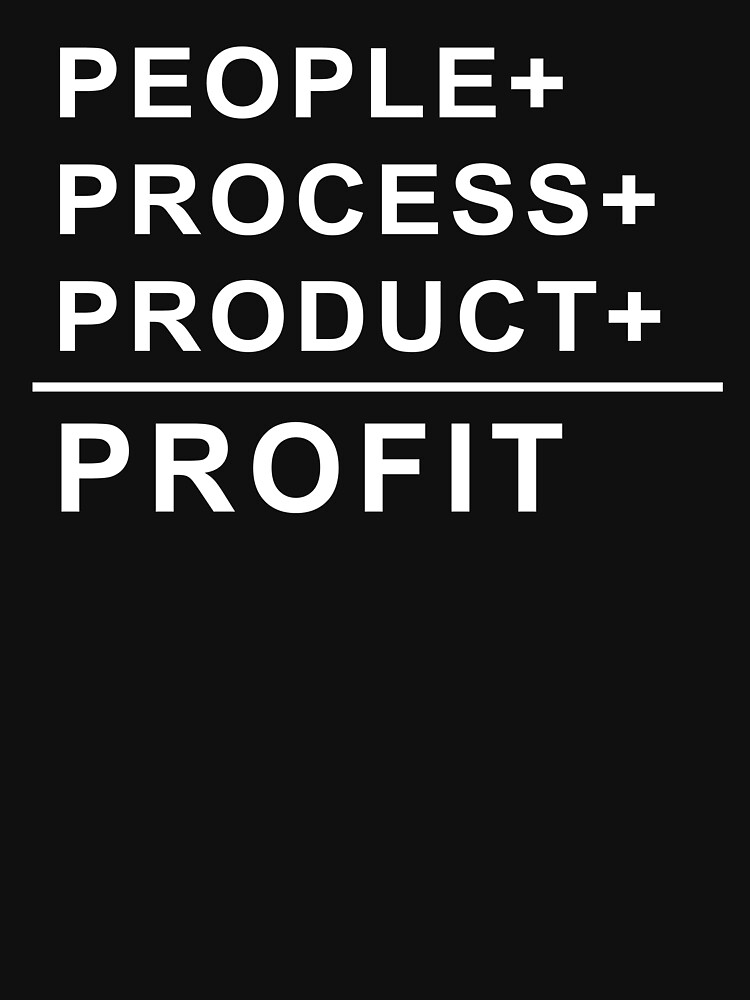 People, Process, Product, Profit by Brasil365