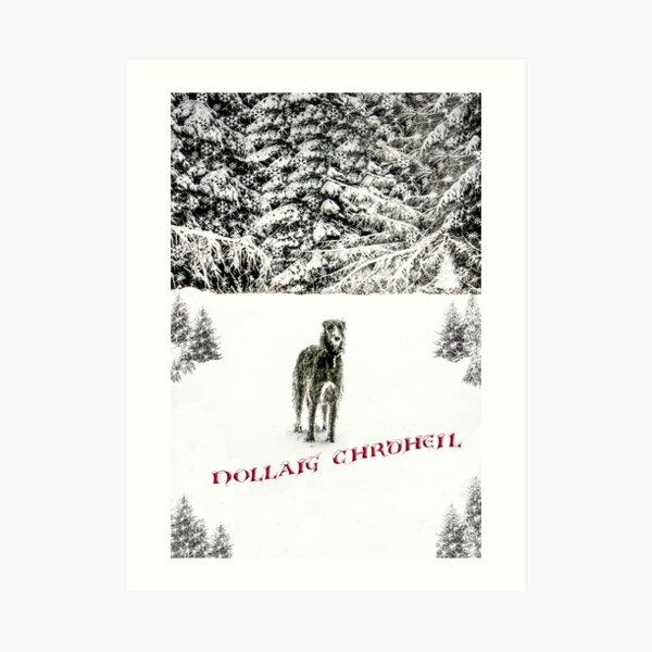 2018 Christmas card Art Print