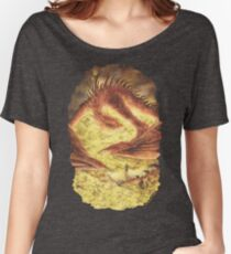 SLEEPING SMAUG Women's Relaxed Fit T-Shirt