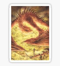 SLEEPING SMAUG Sticker