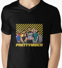 PM (Vintage Design) Men's V-Neck T-Shirt