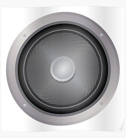 Audio-Lautsprecher Poster
