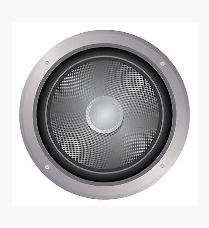 Audio-Lautsprecher Fotodruck