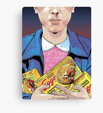 stranger things- eleven Canvas Print