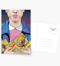 Postales stranger things- eleven