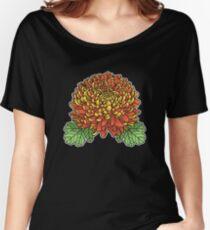 Chrysanthemum Women's Relaxed Fit T-Shirt