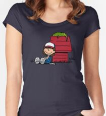 Dustin Brown Women's Fitted Scoop T-Shirt