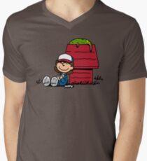 Dustin Brown Men's V-Neck T-Shirt