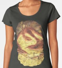 SLEEPING SMAUG Women's Premium T-Shirt