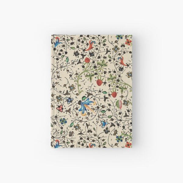Medieval floral pattern – State Library Victoria Hardcover Journal