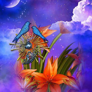 Wild Flower Skies by Delights