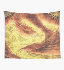 SLEEPING SMAUG Wall Tapestry