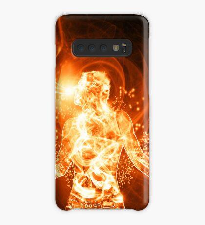 Feuermann Hülle & Klebefolie für Samsung Galaxy