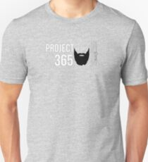 Project Yeard 365 | The Official T-Shirt of Drews Obsessions (Black) Unisex T-Shirt