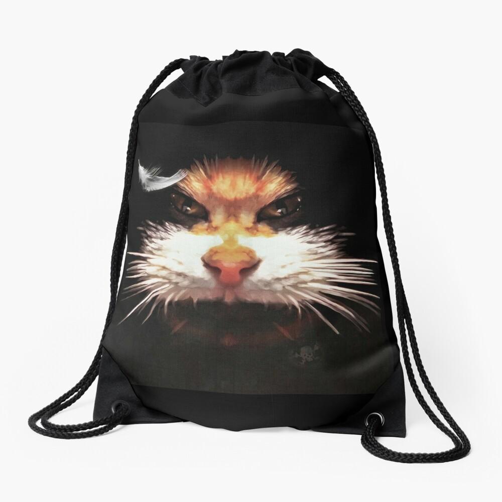 Sac à cordon «Naughty cat»
