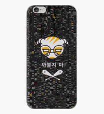 Dokkaebi Logic Bomb Logo - With Glitch Static iPhone Case