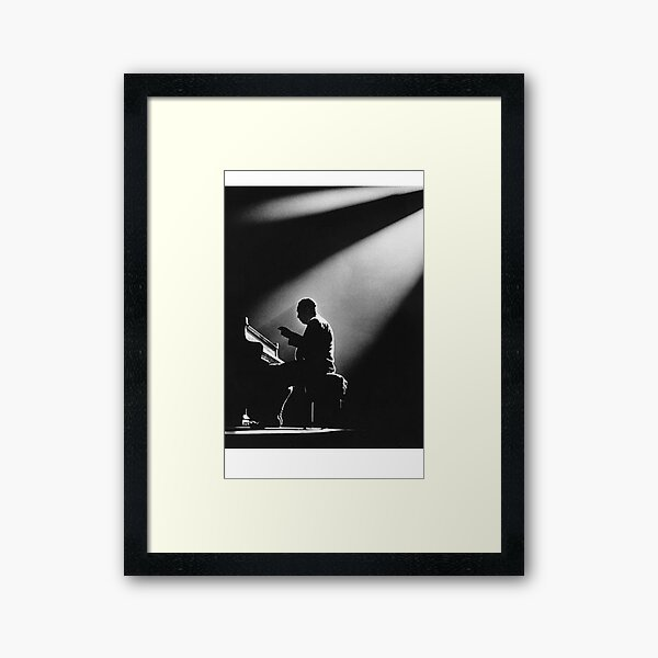 Ellington In The Spot Light Framed Art Print