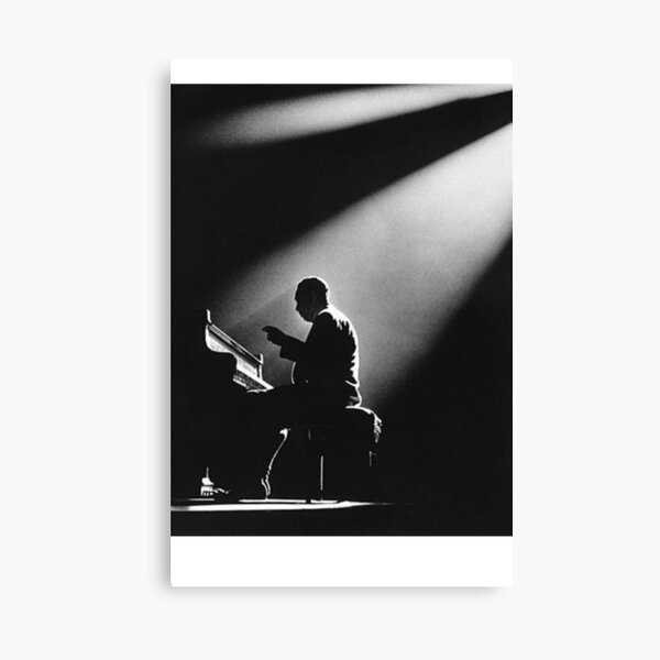 Ellington In The Spot Light Canvas Print