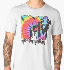 MTV Tie Dye Men's Premium T-Shirt