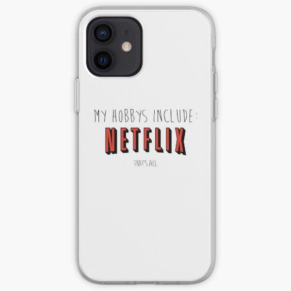 Netflix Hobby iPhone Soft Case