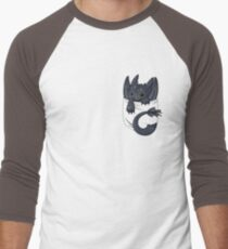 Is that a dragon in your pocket? Men's Baseball ¾ T-Shirt