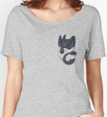 Is that a dragon in your pocket? Women's Relaxed Fit T-Shirt