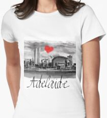I love Adelaide  Women's Fitted T-Shirt