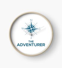 THE ADVENTURER Clock