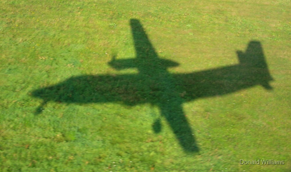 Flying in to Riga, Latvia, August, 2006 by Donald Williams