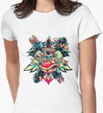 bowser never dies Women's Fitted T-Shirt