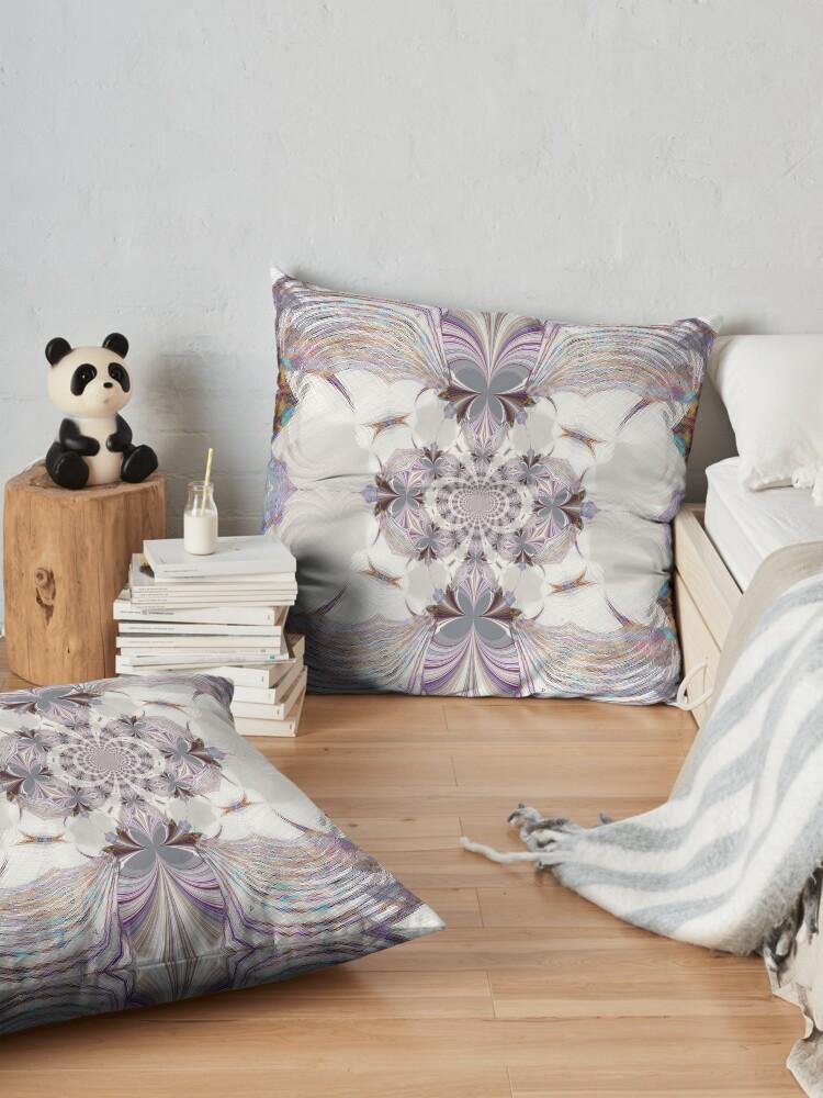 Alternate view of simple elegance Floor Pillow