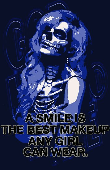A Smile Best Makeup Girls Wear 2 Posters By Jdamelio Redbubble