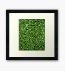Fresh Cut Grass Lawn Framed Print