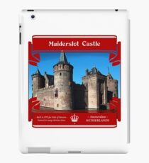 Muiderslot Castle of Amsterdam iPad Case/Skin