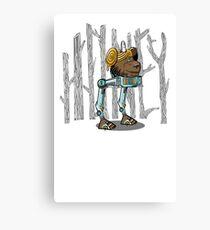 Honey Bun Canvas Print
