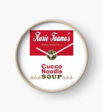 Cucco Noodle Soup Clock