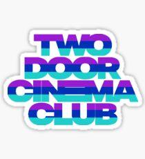 Two Door Cinema Club Gameshow Sticker