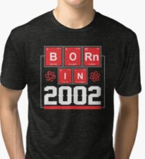 Science Birthday Shirts for Ages 15 Tri-blend T-Shirt