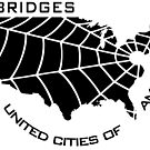 BRIDGES - United Cities of America (White) by Fireseed-Josh
