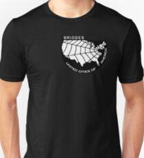 BRIDGES - United Cities of America (Black) Unisex T-Shirt