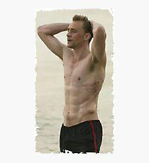 Tom Hiddleston Fotodruck